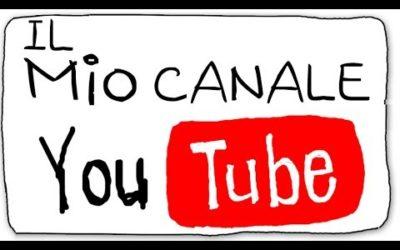 Benvenuti sul mio canale Youtube!