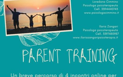Corso online di PARENT TRAINING